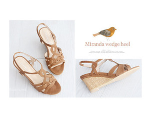 *정상가 39500원* Miranda wedge heel