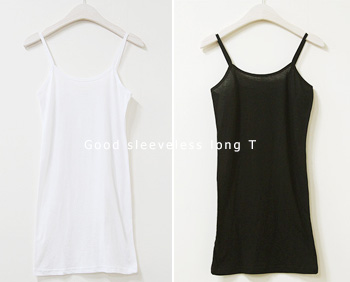 Good sleeveless long T (3c)